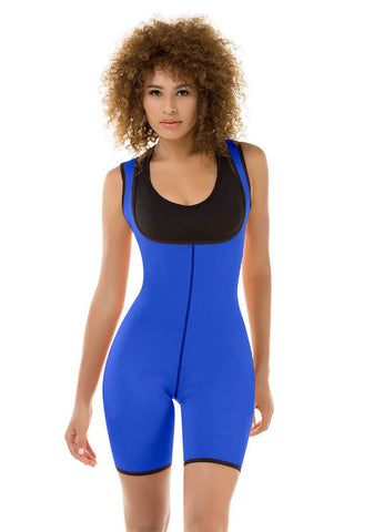 VS 8016 - High Performance Thermal Body Suit - Slimming Gym Body Shaper - Sweat Increaser - Neopreno Shapewear Virtual Sensuality Fajate- LAPG