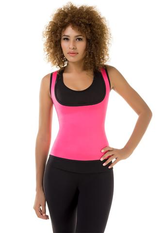 VS 8015 - High Performance Thermal T-Shirt - Slimming Gym Body Shaper - Sweat Increaser - Neopreno