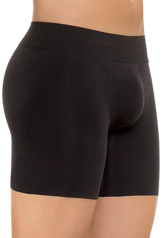 VS 7020 - Men's Seamless Butt-Lifter Control Boxer - Boyshort Flattens Abdomen - Butt Lift - Gym Ready - Microfiber Shapewear Virtual Sensuality Fajate- LAPG