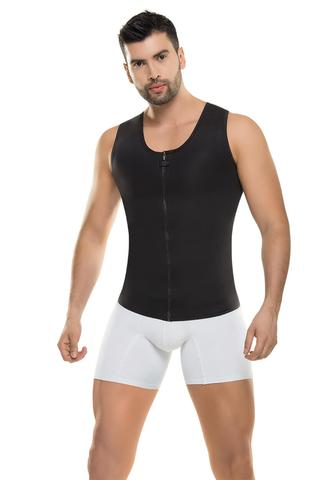 VS 8011 - Men's High Performance Thermal Vest - Body Shaper - Increase Sweat - Gym Ready - Neopreno
