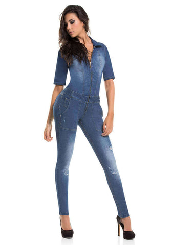 CYSM - Women's Push Up Jeans Colombian Butt Lift, Stretch | Levanta Cola | Selene Jumpsuit Jumpsuits & Rompers CYSM- LAPG