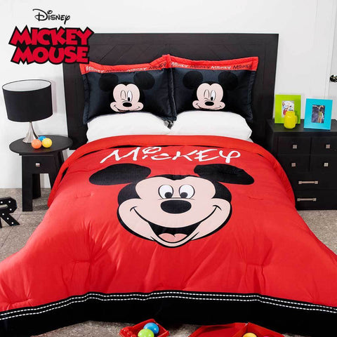 Disney Mickey Mouse Comforter with Shams  (SHEET SET SOLD SEPARATE) 2019 Bedding Sets Intima Hogar- LAPG