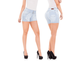 Virtual Sensuality Jeans Colombian Push Up Butt Lifting Shorts, INDRA