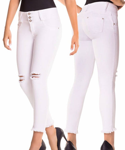 CYSM - Women's Push Up Jeans Colombian Butt Lift, Stretch | Levanta Cola | JIANA