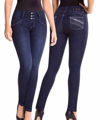 CYSM - Women's Push Up Jeans Colombian Butt Lift, Stretch | Levanta Cola | KIYA