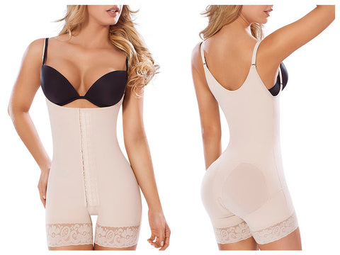 Moldeate 1013 Powernet Post Surgical Body Shaper with Butt Lifting Support Shapewear Moldeate- LAPG