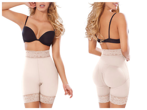 Moldeate 3017 Push Up & Tummy Control Pant Waist Cincher Colombian Shapewear