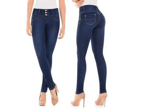 BEST Sexy Colombian Butt LIFT PUSH UP Stretch Slim Shaper Jeans Levanta Cola, NATALI