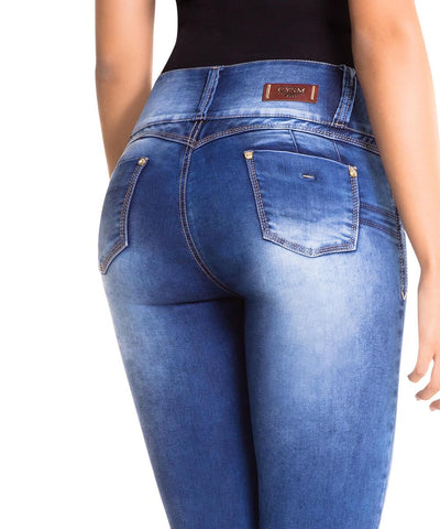 CYSM - Women's Push Up Jeans Colombian Butt Lift, Stretch | Levanta Cola | ISABELLA Jeans CYSM- LAPG