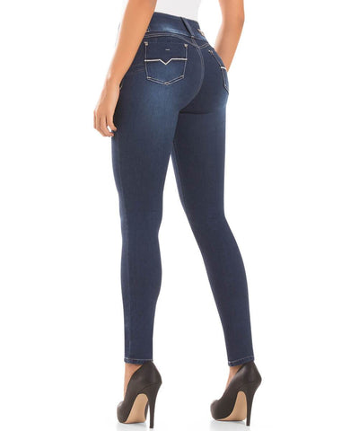 CYSM - Women's Push Up Jeans Colombian Butt Lift, Stretch | Levanta Cola | JADE