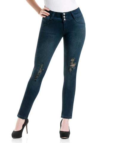 CYSM - Women's Push Up Jeans Colombian Butt Lift, Stretch | Levanta Cola | FAIT Jeans CYSM- LAPG
