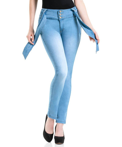 CYSM - Women's Push Up Jeans Colombian Butt Lift, Stretch | Levanta Cola | GISELLE Jeans CYSM- LAPG