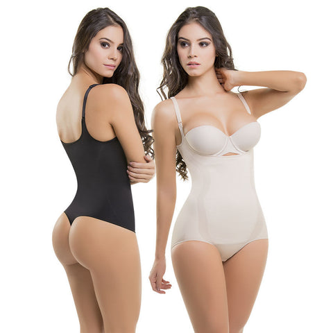 VS1577-8 Thermal Abdomen Body Shaper Slim Waist Flat Abs Bust Lift Thong or Panty