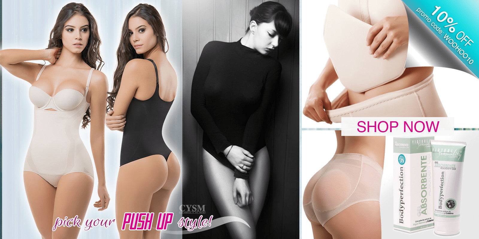 LAPG-COLOMBIAN-CYSM-VIRTUAL-SENSUALITY-PUSH-UP-SHAPERS-POST-SURGERY