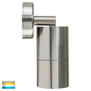 HV1205T-HV1207T - Tivah 316 Stainless Steel TRI Colour Single Adjustable Wall Pillar Lights