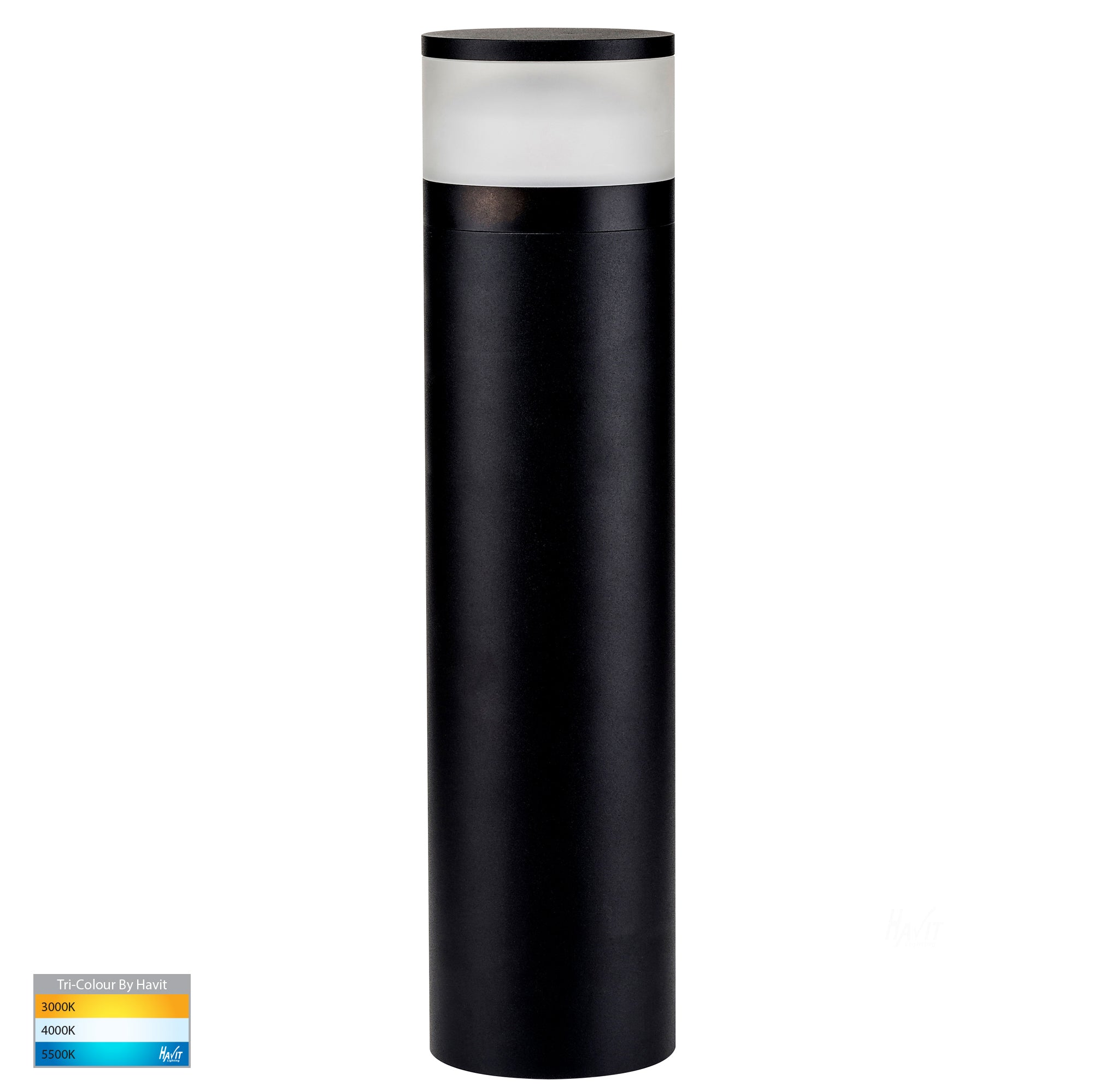 HV1625T-BLK - Highlite Black LED Bollard Light