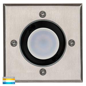 HV1701T - HV1706T - Metro Square 316 Stainless Steel TRI Colour Inground Lights