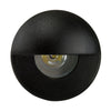 HV2891-BLK - MINI OLLO Black LED Step Light with Eyelid