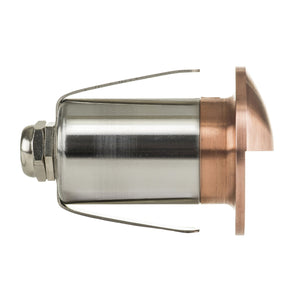 HV2891-CP - Mini Copper Copper LED Step Light with Eyelid