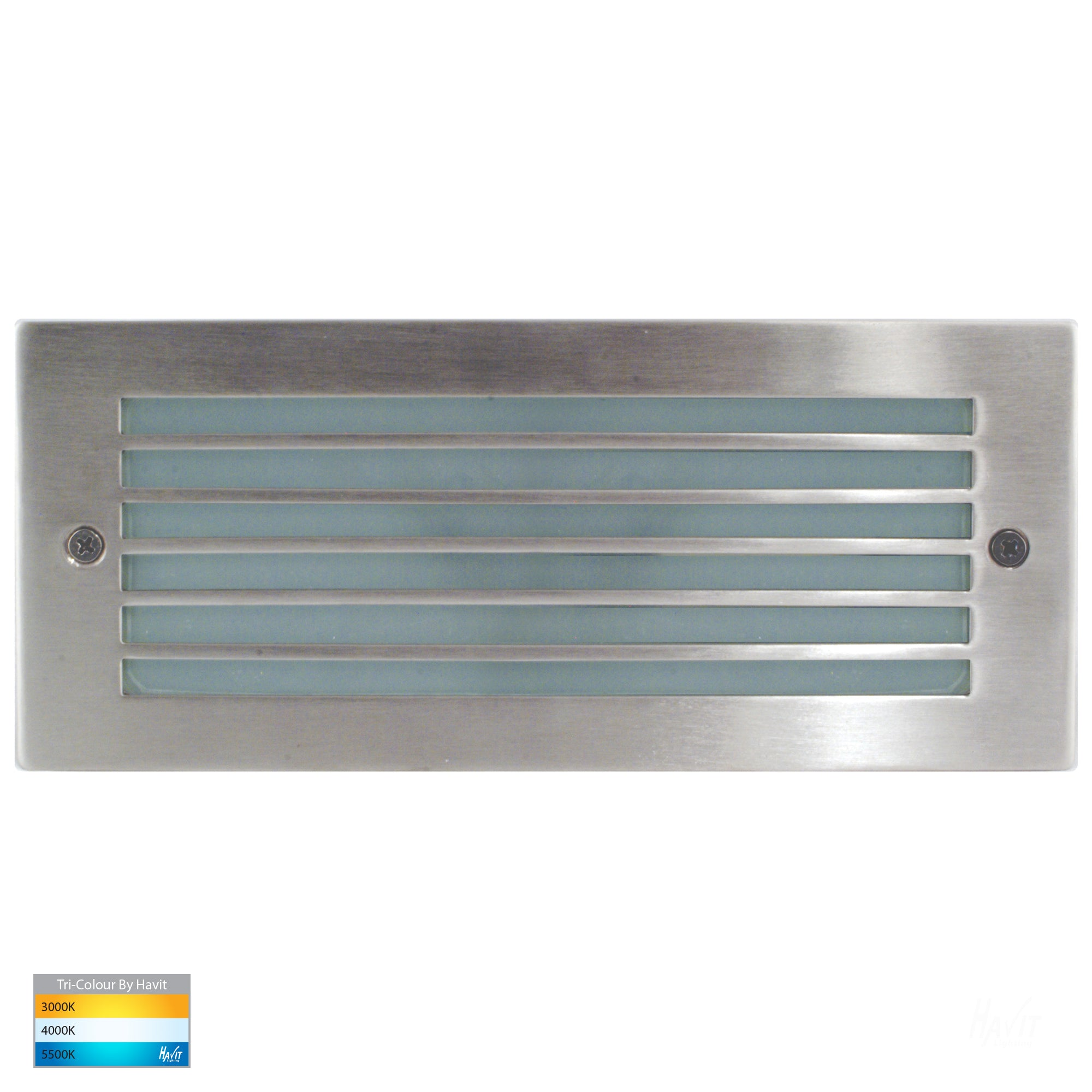HV3004T-SS316 - Bata 316 Stainless Steel LED Brick Light with Grill