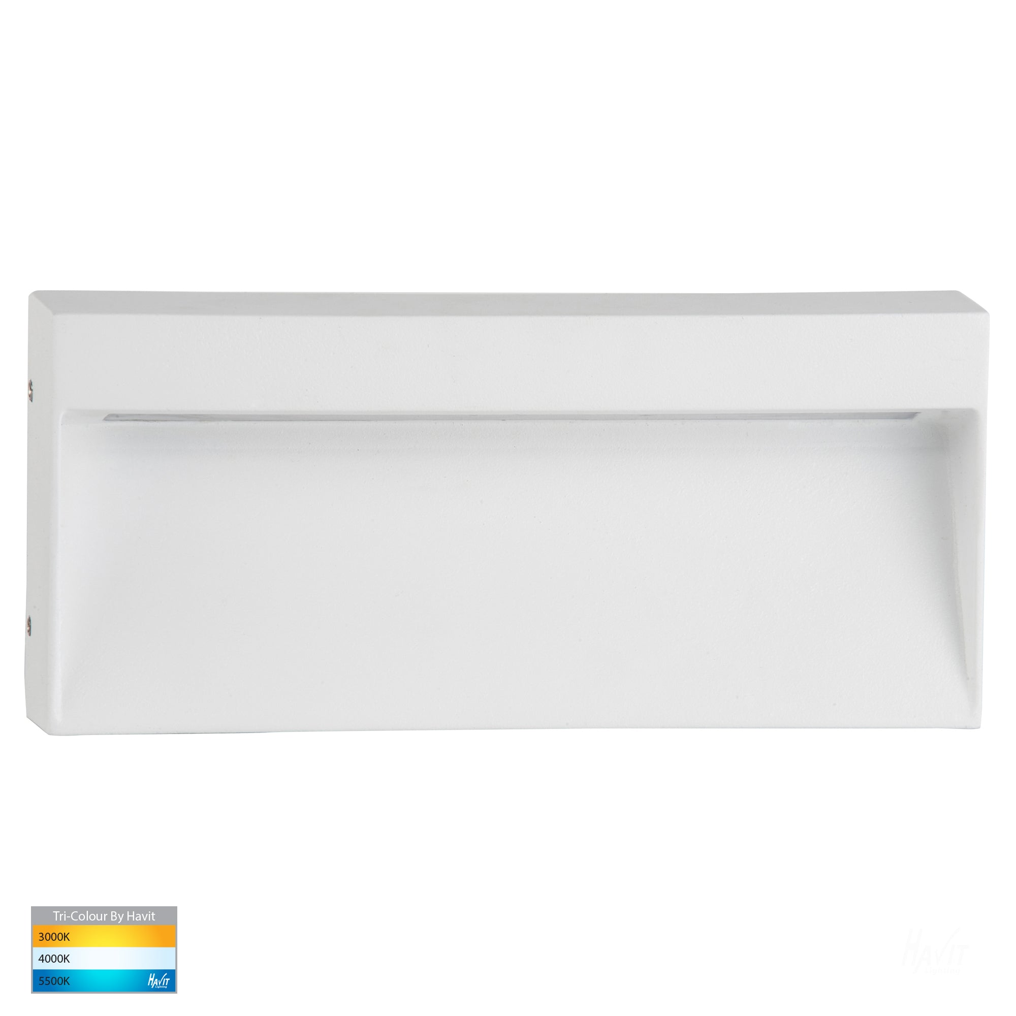 HV3275T-WHT - Virsma White Rectangle LED Step lights
