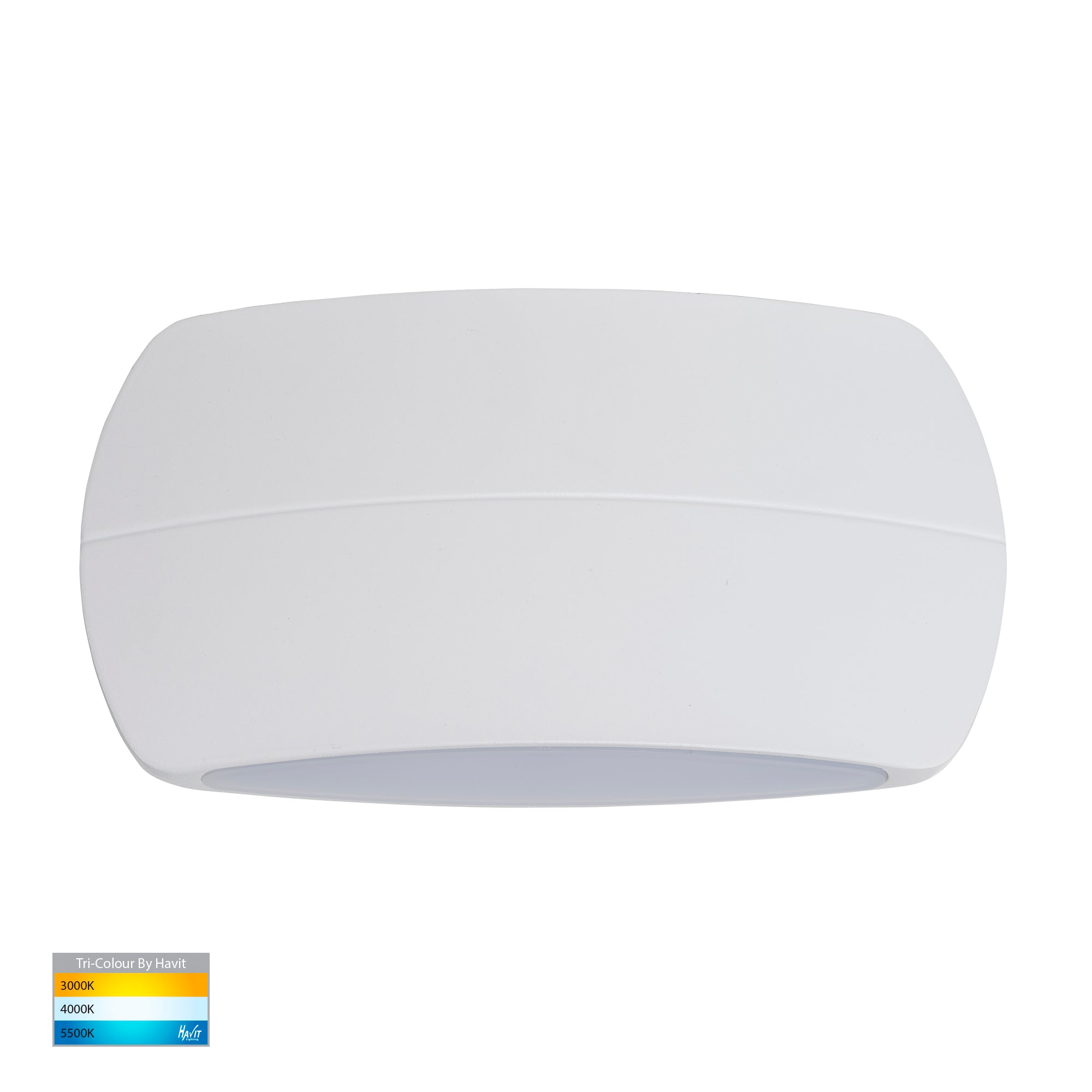 HV35022T-WHT - Cara White Up & Down LED Wall Light