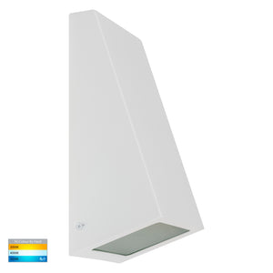 HV3601T-WHT - Taper White TRI Colour LED Wedge Wall Light
