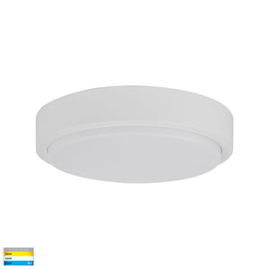HV36053T-WHT- Liptor White 30w Surface Mounted LED Oyster