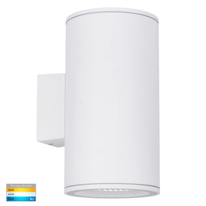 HV3629T-WHT - Porter Large White Up & Down LED Wall Light