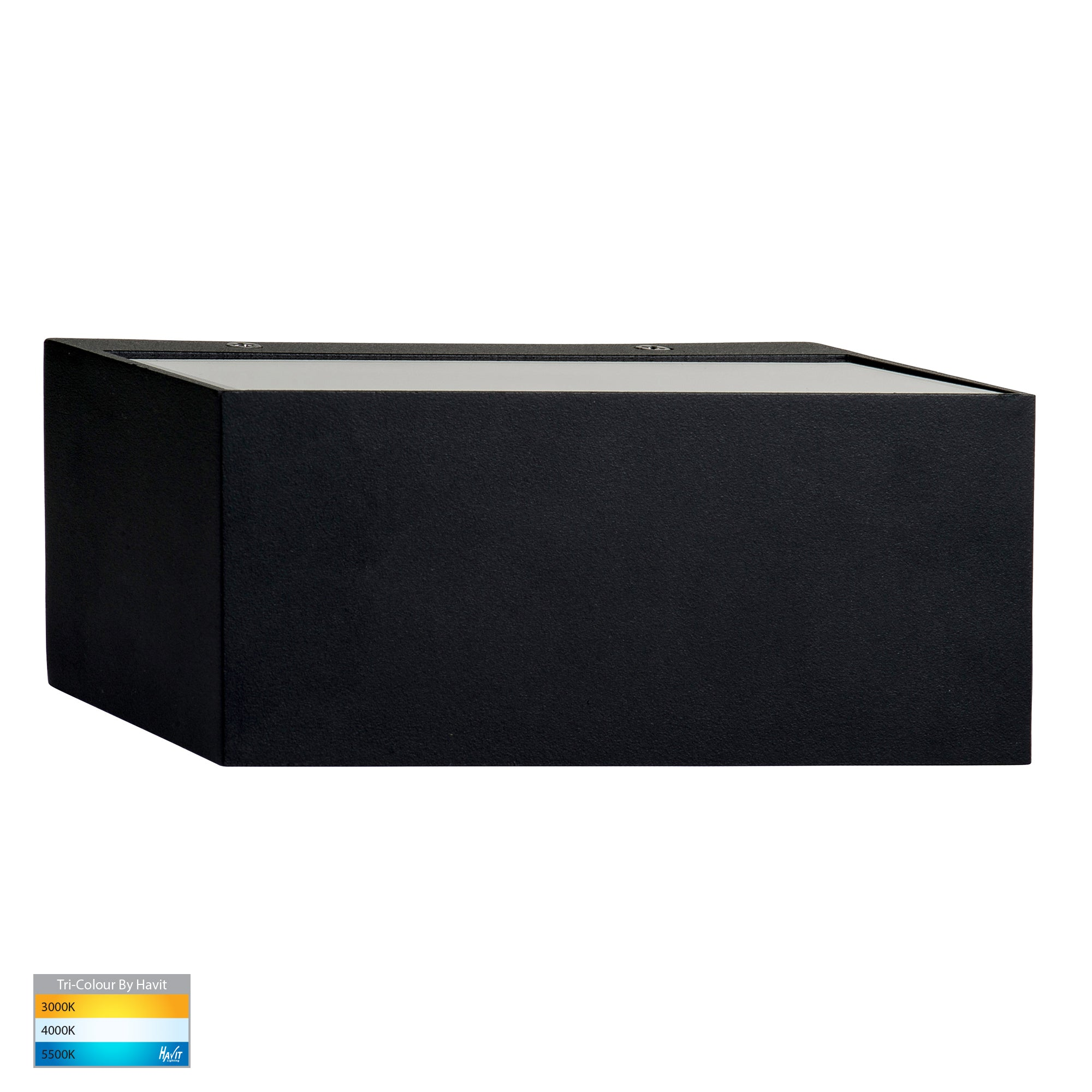 HV3637T-BLK - Nikki Black Up & Down LED Wall Light