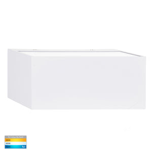 HV3637T-WHT - Nikki White Up & Down LED Wall Light