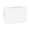 HV3638-WHT - MINI BLOKK White Up & Down LED Wall Light