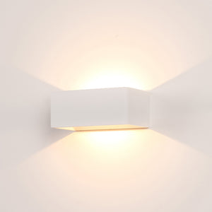HV3665T-WHT - Mia White TRI Colour Up & Down LED Wall Light