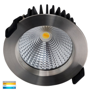 HV5530T-SS316 - Ora 316 Stainless Steel Fixed TRI Colour LED Downlight