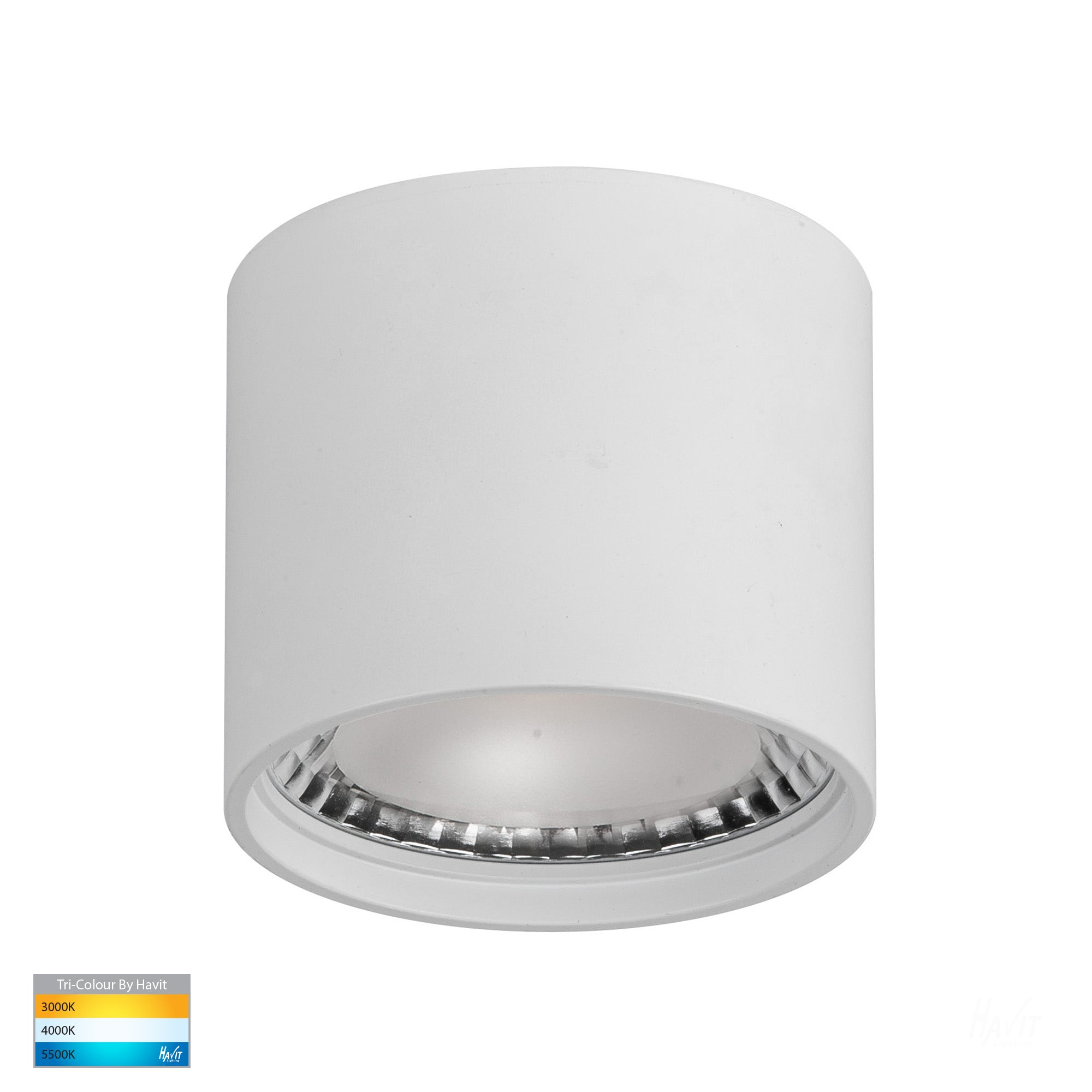 HV5802T-WHT - Nella White 7w Surface Mounted LED Downlight