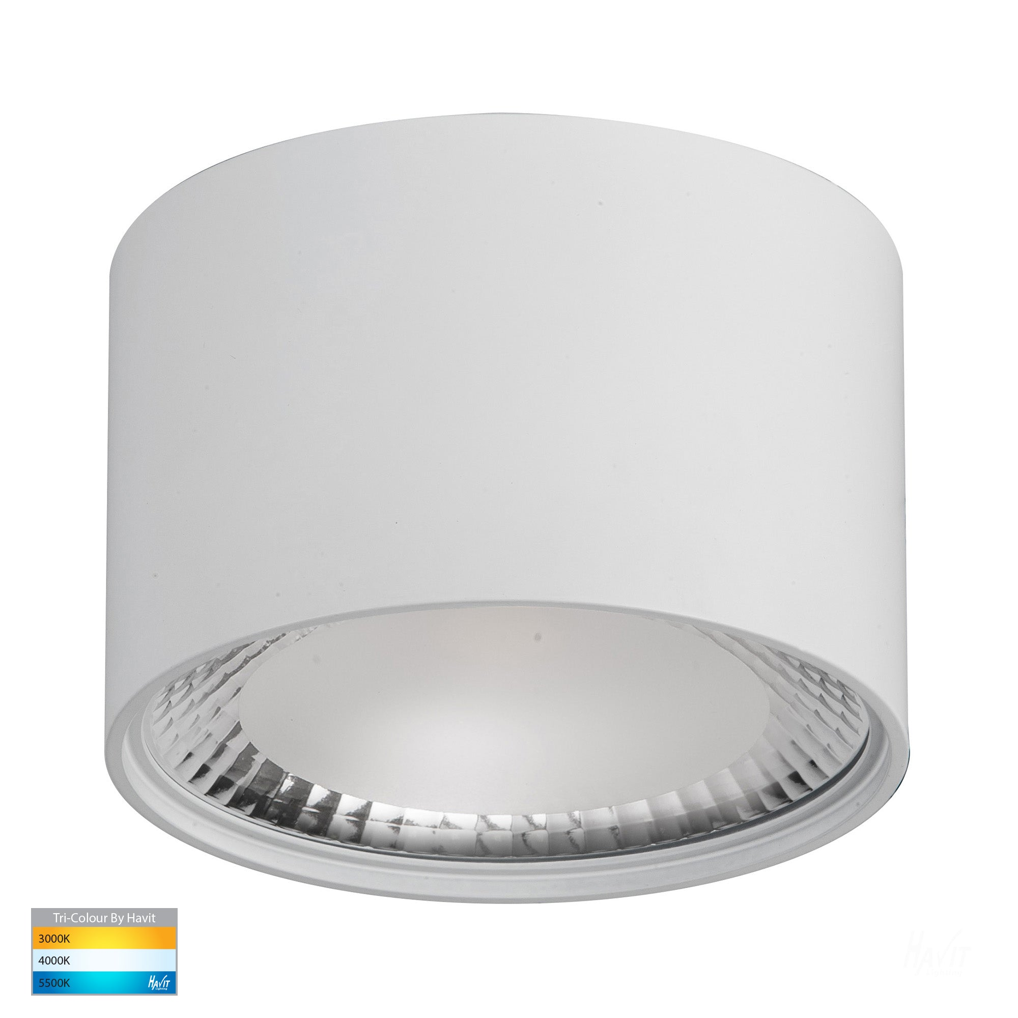 HV5803T-WHT - Nella White 12w Surface Mounted LED Downlight