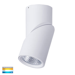 HV5824T-WHT - Nella White 18w Surface Mounted Rotatable LED Downlight