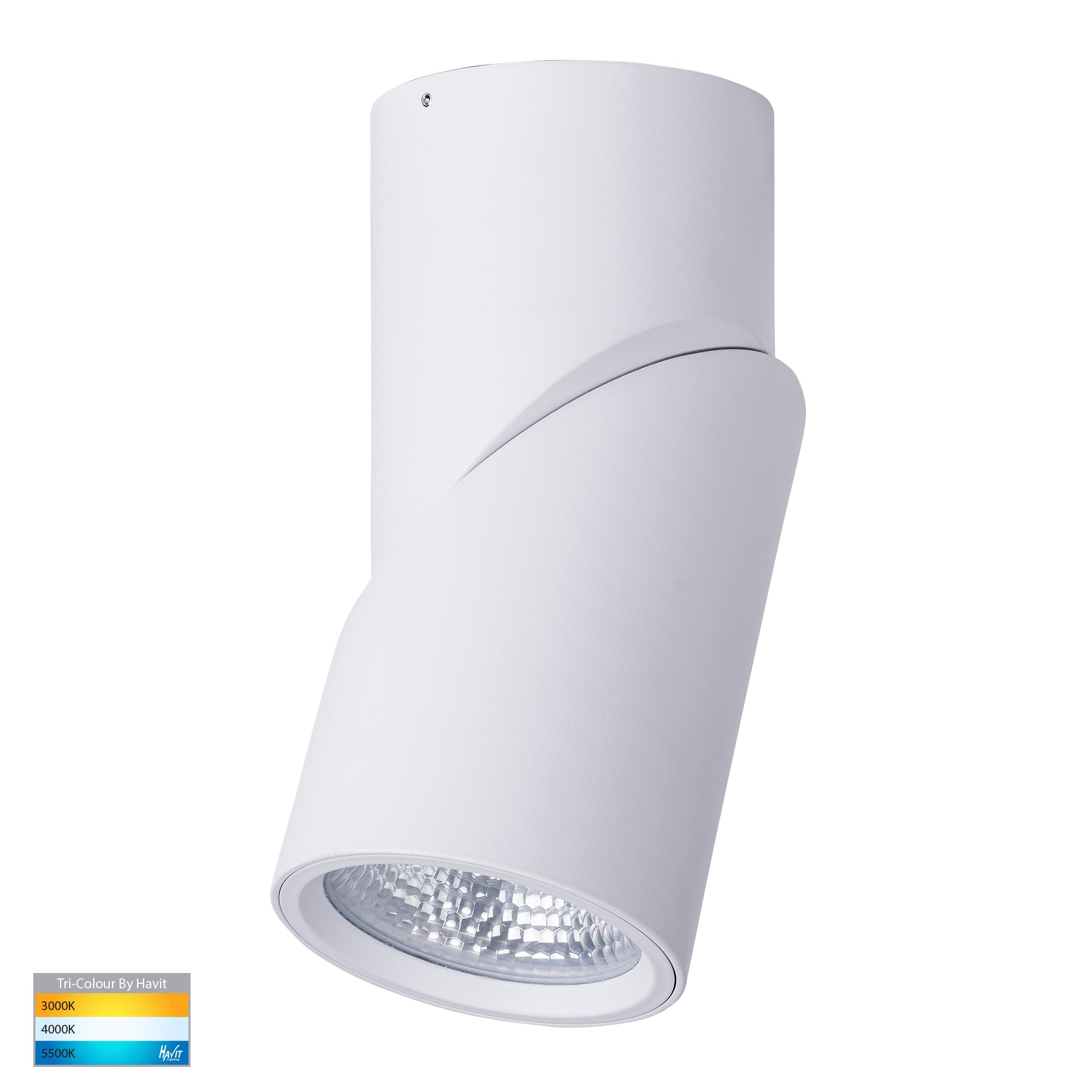 HV5825T-WHT - Nella White 24w Surface Mounted Rotatable LED Downlight