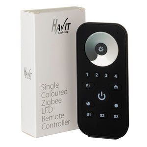 HV9102-ZB-SCREM - Single Coloured Zigbee LED Remote Controller