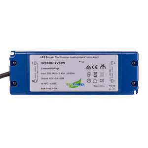 HV9660-60W - 60W Indoor Dimmable LED Driver