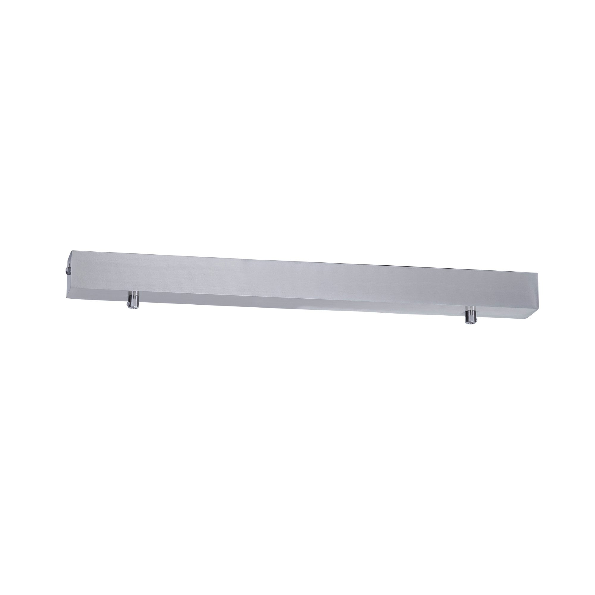 HV9705-5050-SCH - 500mm Rectangle Surface Mounted Silver Pendant Canopy
