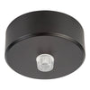 HV9705-7023-BLK - 70mm Round Canopy Black
