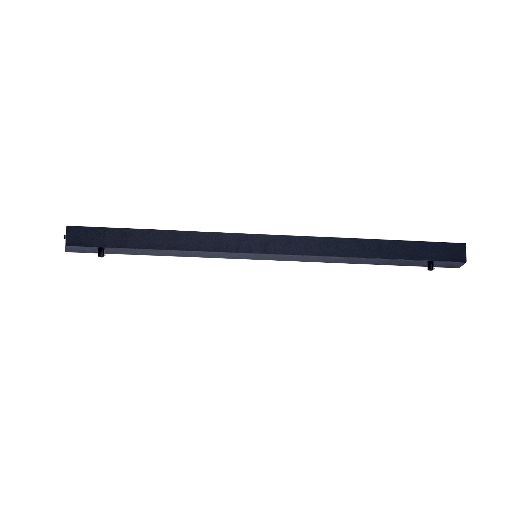 HV9705-5080-BLK - 800mm Rectangle Surface Mounted Black Pendant Canopy