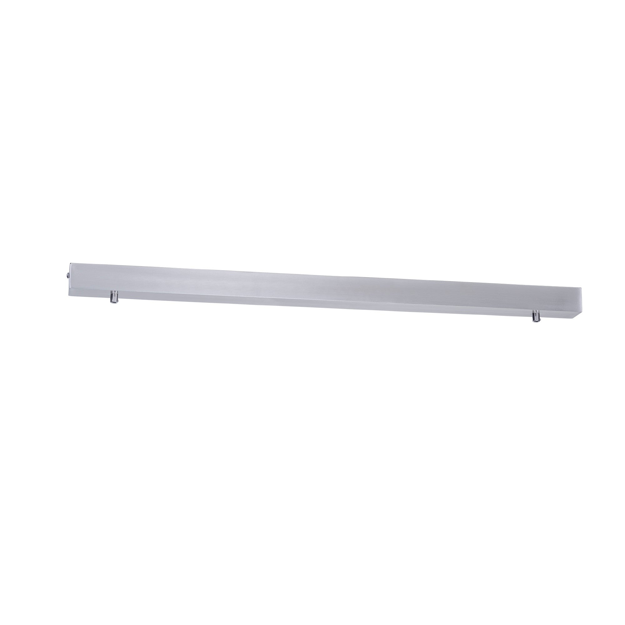 HV9705-5080-SCH - 800mm Rectangle Surface Mounted Satin Chrome Pendant Canopy