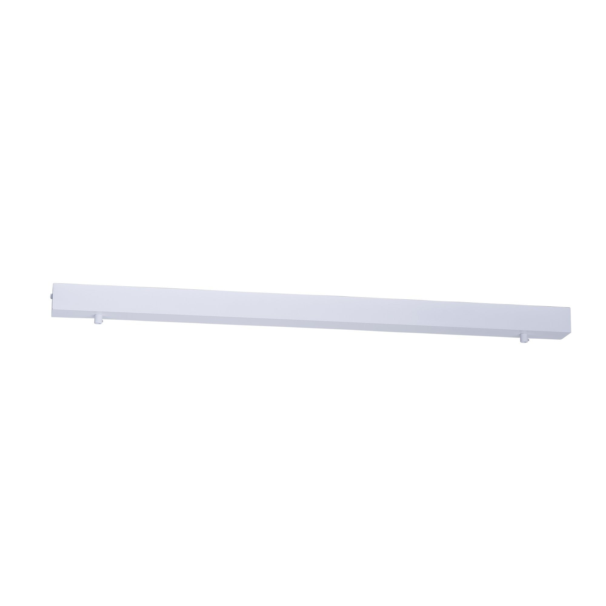 HV9705-5080-WHT- 800mm Rectangle Surface Mounted White Pendant Canopy