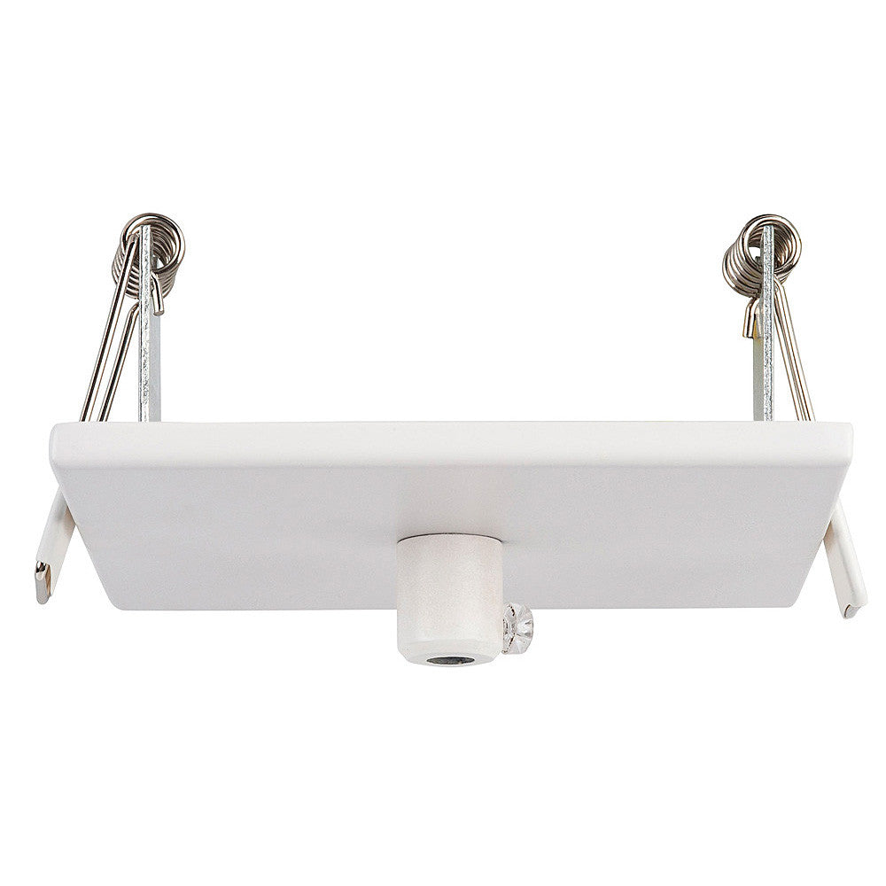 HV9705-9005-WHT-SQ - 100mm Square Recessed Canopy White