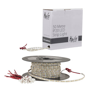 HV9723-IP20-60-5K-50M - 4.8w IP20 LED Strip 5500k 50m Roll