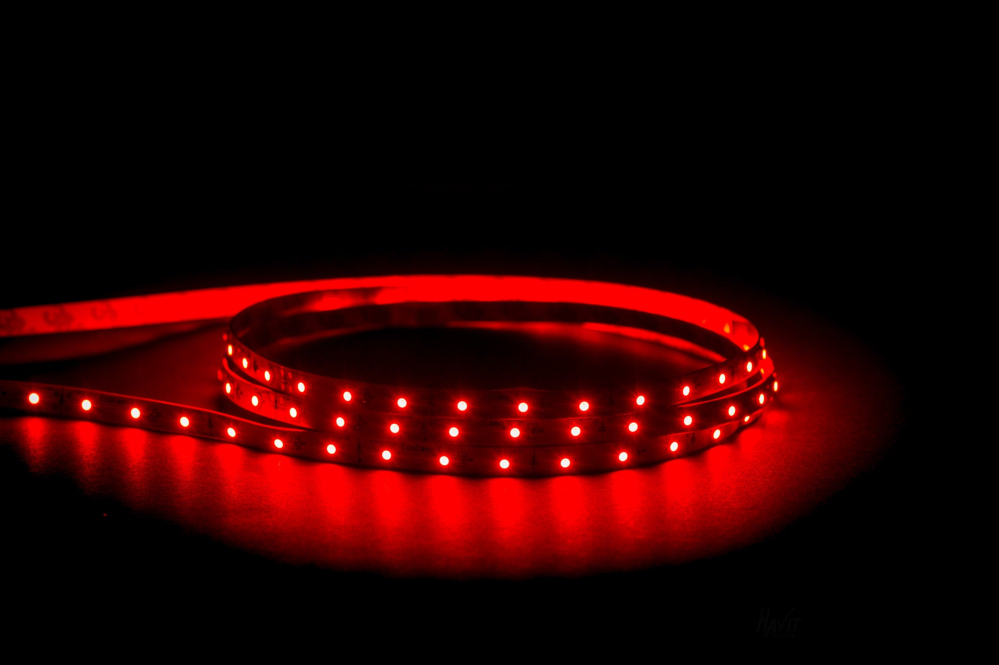 HV9723-IP20-60-R - 4.8w IP20 LED Strip Red