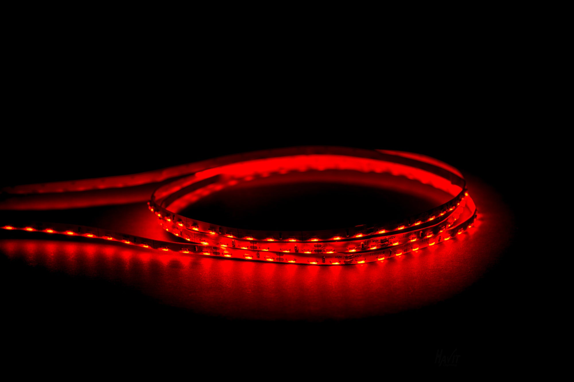 HV9723-IP20-96SM-R - 7.7w IP20 Side Mounted LED Strip  Red