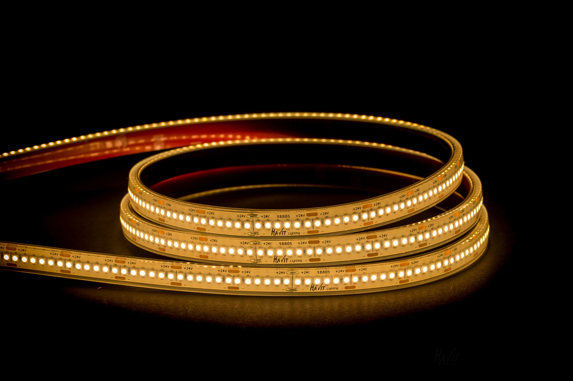 HV9723-IP67-240-3K-1 - 19.2w IP67 LED Strip 3000k